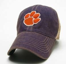 78bc020431323 Clemson Tigers Paw Logo Hat Clemson Tiger Paw