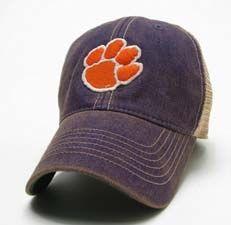 Clemson Tigers Paw Logo Hat