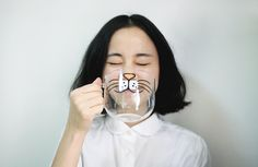 This cartoon cat mug: | 39 Things That Will Help You Embrace Your Inner Cat Lady