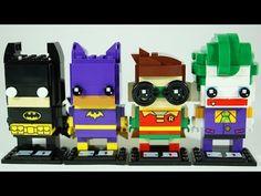 BrickHeadz LEGO Batman Movie | LEGO Review & Speed Build - YouTube