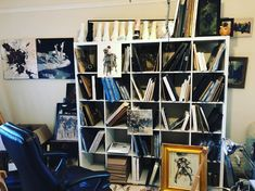 "1,244 Likes, 19 Comments - Ashley Wood (@ashleywoodart) on Instagram: ""A corner of the studio where small paintings live out there life. #ashleywood #ashleywoodart…"""