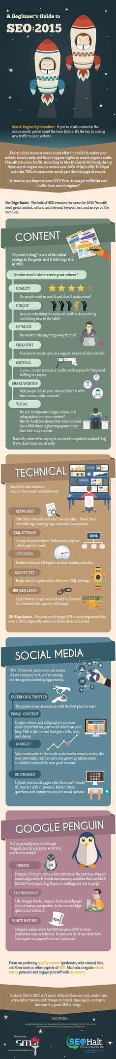 Want Your Site on Page One of Google Here's How to do SEO in 2015 #Infographic