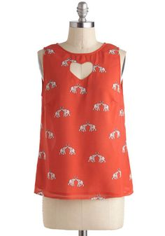 To Have and To Herd Top, #ModCloth