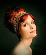 Another shot of that amazing redhead....this site is cool!