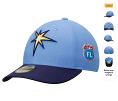 half off 60312 02313 Men s New Era Light Blue Navy Tampa Bay Rays Spring Training Diamond Era  Low Profile 59FIFTY Fitted Hat