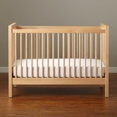 Baby Cribs: Natural Andersen Baby Crib in Cribs & Bassinets | The Land of Nod