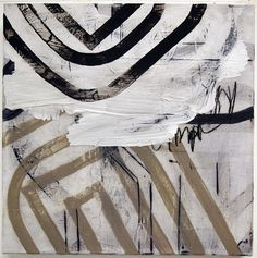 Untitled  takt III - mixed media on canvas - 30cm x 30cm - 2012 by Hollingsworth, via Flickr