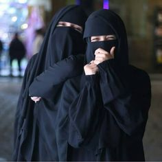 Image may contain: one or more people Hijab Niqab, Muslim Hijab, Mode Hijab, Hijab Outfit, Arab Girls Hijab, Muslim Girls, Muslim Couples, Muslim Women, Niqab Fashion
