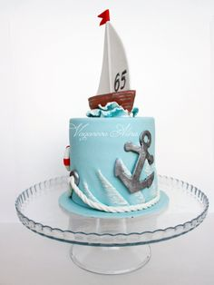 Over the Hill The Effective Pictures We Offer You About Cake Design car A quality picture can tell you many things. You can find the most beautiful pictures that can be presented to you about Cake Des Nautical Birthday Cakes, Nautical Cake, Beautiful Cakes, Amazing Cakes, Sailboat Cake, Drum Cake, Sea Cakes, Cool Cake Designs, Novelty Cakes