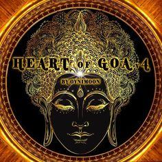 Heart Of Goa Vol 4 - Ovnimoon Records Goa, Shops, Unity, Real Life, Heart, Illustrations, Products, Blue, Tents