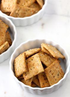 Sourdough Crackers   The Leftover Sourdough Starter Dilemma from Karen's Kitchen Stories
