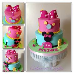 minnie mouse cake | minnie mouse clubhouse girly minnie mouse clubhouse