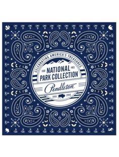 NATIONAL PARK COLLECTION BANDANA by Pendleton