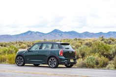 Made for more than the garage. The #MINI #Countryman thrives in the wilderness.