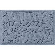 Found it at Joss & Main - Aqua Shield Brittany Leaf Doormat