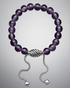 Spiritual Beads Amethyst Bracelet by David Yurman at Neiman Marcus.