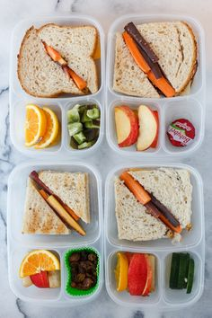Packed lunch fast with  EasyLunchboxes!