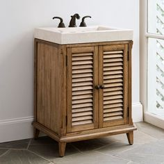 HAMPTON ROAD PETITE SINK CHEST - Ambella Home  #Furniture #Bathroom #Storage #Vanity #Sinkchest