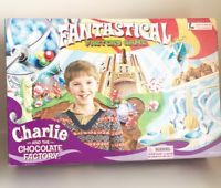 Charlie And The Chocolate Fantastical Factory Board Game - complete working