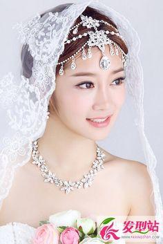 2016韩式新娘发型大全