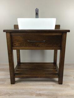 Bathroom Sinks Essex custom built solid wood double 'essex' bathroom vanity from