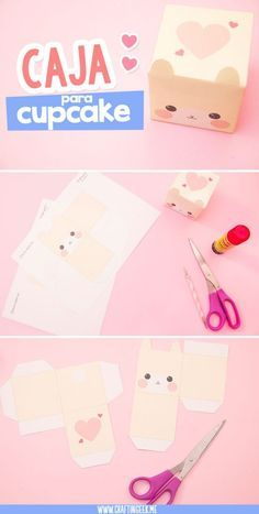 Birthday box printable paper toys 58 Ideas for 2019 Box Kawaii, Kawaii Diy, Diy Gift Box, Diy Box, Diy Gifts, Diy And Crafts, Crafts For Kids, Paper Crafts, Instruções Origami