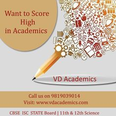 We at VD Academics offer best 11th and 12th science coaching classes in Navi Mumbai, Sanpada. We have simplified teaching methods with proper guidance for students and understanding of basic concepts of each topic. We have experienced staffs who also work in CBSE, ISC schools as teacher and in boards. We do not only teach but proper better understanding for each and every student Visit: http://www.vdacademics.com