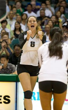 Nikki Taylor UH Volleyball vs. CSU Fullerton, Sept. 27 - Staradvertiser.com :: Photo Gallery