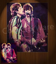 ROLLING STONES Mick Jagger & Keith Richards drawing 5 CANVAS PAINTING. All original paintings direct from the artist, available as oil or acrylic, feel free to choose the artistic technique of your preference. To purchase this, or for painting orders, please contact us at info@collectorware.com, or visit http://www.collectorware.com/canvas-stones3.htm