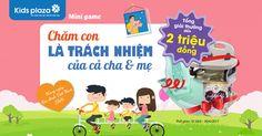 #Minigame_kidsplaza  🔈 🔈 MINIGAME SIÊU HOT, CHỤP ẢNH LÀ CÓ QUÀ VÔ CÙNG HẤP DẪN, DUY NHẤT CHỈ CÓ TẠI KIDS PLAZA  😱 Tổng giải thưởng LÊN ĐẾN 2 TRIỆU ĐỒNG, để nhận được chưa bao giờ đơn giản đến vậy   ⚡⚡ ⚡⚡ ⚡⚡⚡  🎊 🎊 Để chào mừng ngày gia đình Việt Nam Kids Plaza dành tặng tất cả bố mẹ một Minigame vô cùng cùng HẤP DẪN   Theo dõi ngay để không bỏ lỡ bố mẹ nhé !  🍀 THỜI GIAN, CƠ CẤU QUÀ TẶNG   Thời gian diễn ra : Từ ngày 26/6 - 2/7/2017. Công kế kết quả vào ngày 3/7  Cơ cấu quà tặng :  ✔ 01…