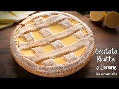 La crostata ricotta e limone è un dolce morbido e cremoso, perfetto per qualsiasi occasione, come dessert a fine pasto o per una merenda gustosa. Una... Ricotta, Arancini, Orange, Apple Pie, Camembert Cheese, Diet Recipes, Cookies, Baking, Sweet