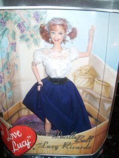 I LOVE LUCY-BARBIE DOLL- ITALIAN MOVIE EPISODE