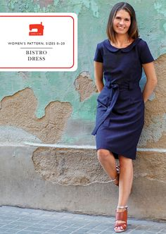Our new Bistro Dress sewing pattern, a version of the classic sheath dress, is extremely versatile, easy to fit, and can be styled many different ways to give you a dress you'll wear over and over ...