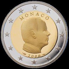 Monaco 2 Euro Coin (Albert II) 2006