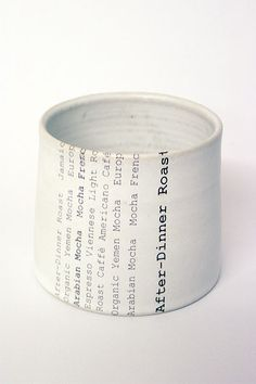 Signe coffee beaker by Swedish ceramist Karin Eriksson