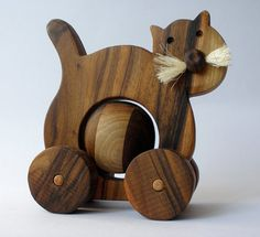 CAT WOODEN TOY