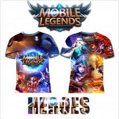 T-Shirt Hero Mobile Legend  | Distro Custom Apparel