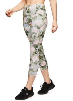 bc3cfc6a34e5ba RBX Active Women's Yoga Workout Leggings Moto Floral Green S #fashion  #clothing #shoes #accessories #womensclothing #leggings (ebay link)