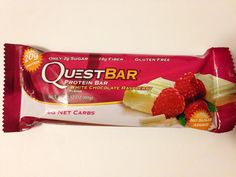 My new favorite #QuestBar flavor!  I love getting the raspberry seeds stuck in my teeth  A protein bar that uses whole foods to really bring out the flavor - I approve!  Fight off those evil cravings and stay strong this #Monday!  #motivationmonday #transformation #nutrition #paleo #lowcarb #ketogenic #fitfam #instafit #training #diet #fitjourney #fitspo #fitness #crossfit #powerlifting #bodybuilding #ifbb #abs #physique #like4like #motivation #like4follow #follow4follow #foodporn…