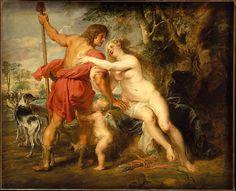 Peter Paul Rubens (Flemish 1577–1640). Venus and Adonis, probably mid-1630s. The Metropolitan Museum of Art, New York. Gift of Harry Payne Bingham, 1937 (37.162).