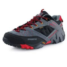 Waterproof Men s Genuine Leather Hiking Shoes Men Trail Outdoor Climbing  shoes a3e295e112