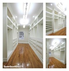 My favorite plan so far. It might just take us forever to build! How to plan and design a built-in closet