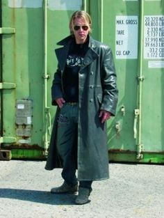 Pin by Glovd Cop on ||| Men in Leather Trench Coats ||| GC | Pinterest