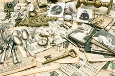 Antique goods, old photos by LiliGraphie on @creativemarket