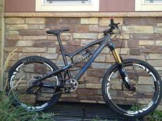 Santa Cruz Nomad Carbon Mountain Bike with Fox Suspension Enve Wheels | eBay
