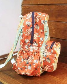 Free Bag Pattern and Tutorial - Back(pack) to School