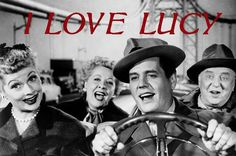 I Love Lucy, photo of Lucy Ricardo (Lucille Ball), Ricky Ricardo (Desi Arnaz), Ethel Mertz (Vivian Vance), and Fred Mertz (William Frawley) as they're starting off to California Lucille Ball, I Love Lucy Show, My Love, William Frawley, Lucy And Ricky, Lucy Lucy, Nostalgia, Plus Tv, Movies