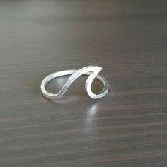 Sterling Silver Surf A Big Wave Ring by nonComplex on Etsy, $30.00