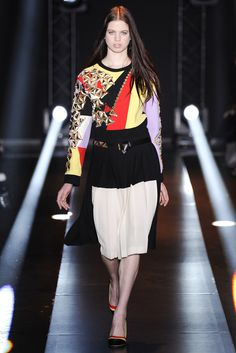 Fausto Puglisi Fall 2014 Ready-to-Wear Fashion Show - Lily McMenamy
