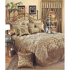 Sherry Kline 'Bellagio' 6-piece Queen-size Comforter Set | Overstock.com Shopping - Great Deals on Sherry Kline Comforter Sets
